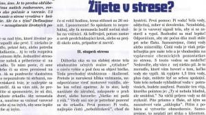 Žijete v strese